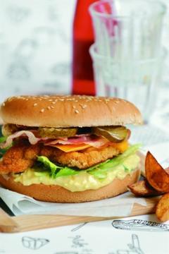 Hamburgers fermiers maison
