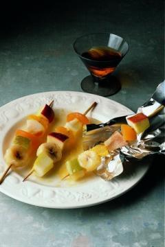 Fruits en papillotes