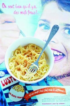 Spaghettis à la cassonade