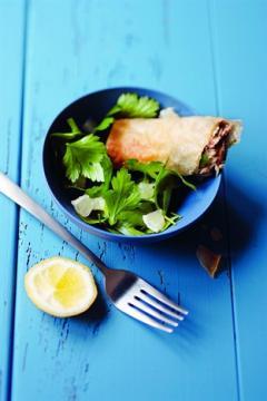 Bricks de sardine et salade de persil