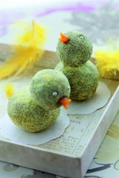 petits poussins de Pâques