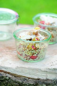 Taboulé de quinoa au poulet