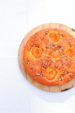 Gâteau aux abricots et au miel