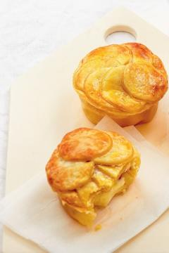 Pies pommes et camembert
