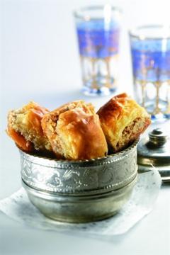 baklavas aux noix