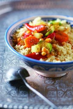 Couscous de légumes à la coriandre