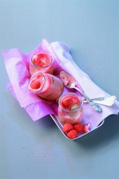 Tiramisu aux bonbons aux fraises