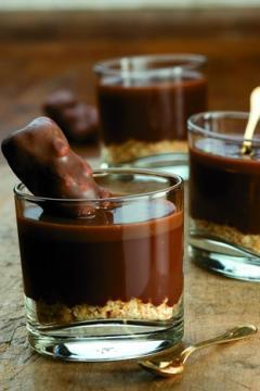 Ganache chocolat et lait au Carambar®
