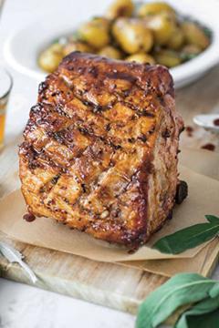 Carré de porc caramélisé de Jean-Pierre Vigato