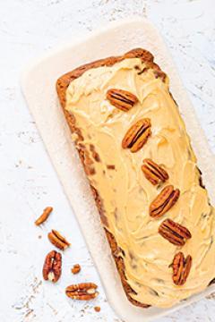 Carrot cake à IG bas