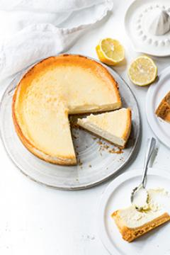 Cheesecake anglais au citron