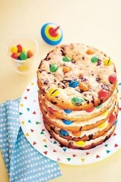 Cookies cake pépites de chocolat et M&M's®