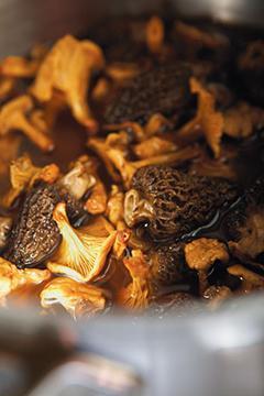 Duxelles de champignons