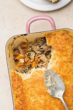 Parmentier de veau aux carottes