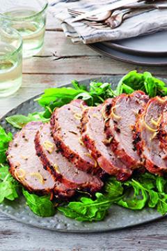 Filet de porc rôti à la toscane