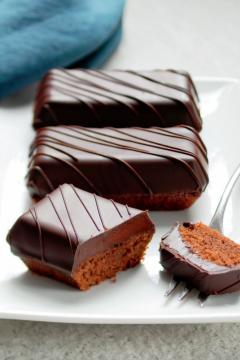 Financiers tout chocolat