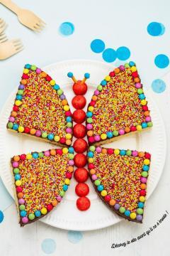 Le papillon arc-en-ciel