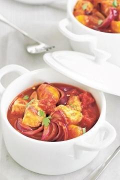 Mijoté de porc aux tomates