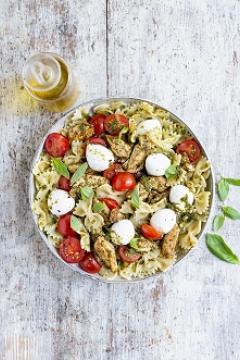 Salade de pâtes italienne au poulet