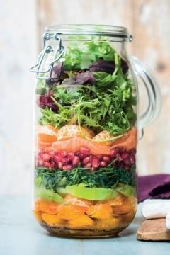 Salade de saumon aux agrumes