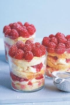 Trifles aux framboises