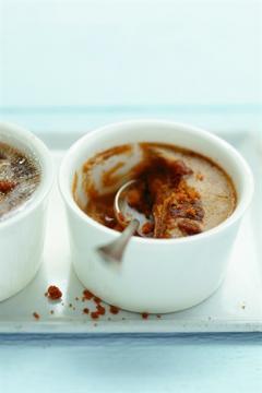 Crèmes au café et aux spéculoos
