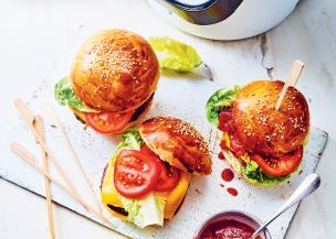 Burgers et ketchup maison